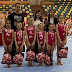 """Gimnastica artistică s-a întors după mulți ani în Polivalentă cu ocazia Cupei """"Emilia Eberle"""", într-o repetiție generală pentru """"naționalele"""" din mai"""