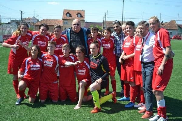 Cu achiziții de ultim moment, AC Piroș Security debutează, la Târgoviște, în elita fotbalului feminin