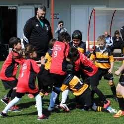 """Rugby-ul juvenil, la putere pe """"Banatul"""": A fost prima ediție a Cupei Aradului!"""