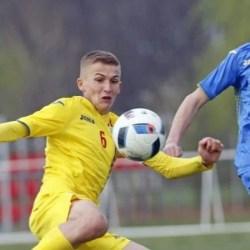 Cu utistul Vulturar căpitan și integralist, România Under 15 a pierdut la limită primul test cu Ucraina