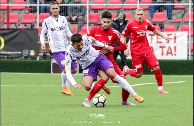 """Foste campioane, în căutarea """"zăpezilor"""" de altădată: FC Argeș - UTA - fără o miză de clasament, dar cu ambiția de onora...tradiția"""