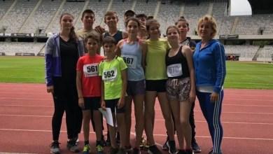 """Photo of """"Zona"""" de atletism de la Cluj a adus calificări pe linie ale copiilor de la CSȘ Gloria, patru dintre ei au făcut recorduri personale"""