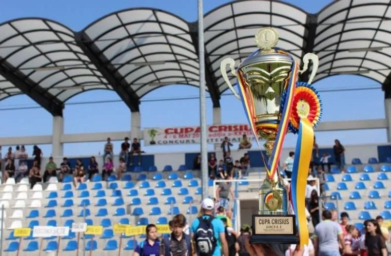 Cupa Crisius schimbă prefixul pentru a patra oară: Mii de elevi din țară și străinătate se întrec în 15 probe la Chișineu Criș!