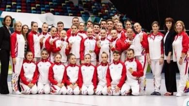 """Photo of Arădenii au câștigat medalii """"sub tricolor"""" la Campionatele Europene de gimnastică aerobică"""