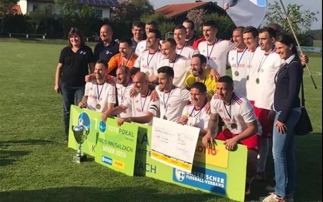 Arădenii Cuedan și Peii au câștigat Cupa în zona Salzach, din Germania: 1860 München - printre posibilii adversari din turul următor