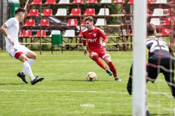 Liga Elitelor: UTA și-a oprit punctele cu CFR Cluj doar la Under 19