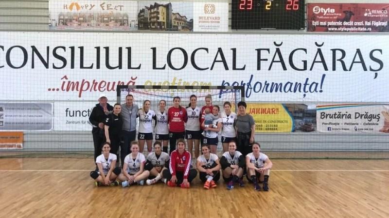 Au încheiat cu capul sus turneul semifinal: Crișul Chișineu Criș – CSU Știința București  26-23