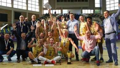 """Photo of """"Galben-albastrele"""" sunt din nou medaliate în Liga Națională de Baschet Feminin: FCC ICIM Arad – Olimpia CSU Braşov84-69"""