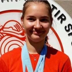 Talerista Briana Vărcuş încheie anul competiţional cu încă două medalii naționale