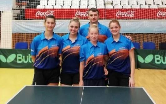 CSM Arad a terminat pe locul 4 în Superliga de tenis de masă