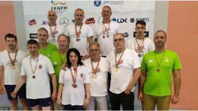 """Photo of Sportivii CSM-ului, în top la """"naţionalele"""" de înot master"""