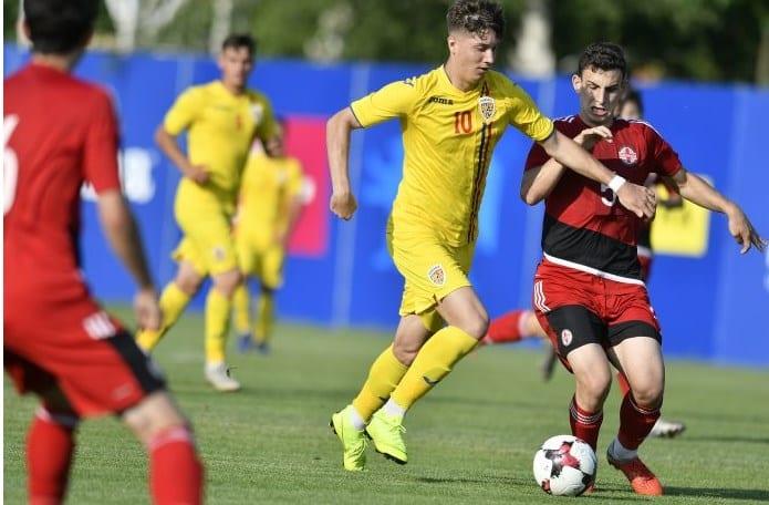 Utistul Miculescu a decis amicalul România - Georgia, Hrezdac și Gavrilă au intrat spre final