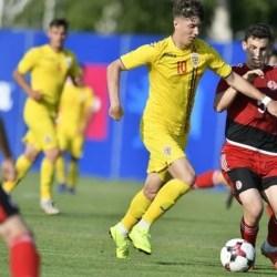 Miculescu, pe teren 70 de minute în victoria României Under 19 contra Israelului