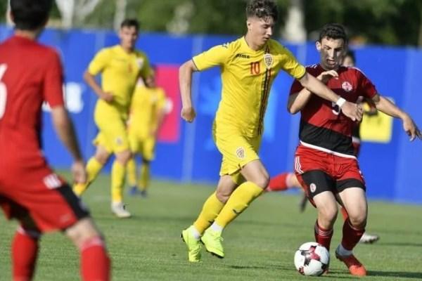 Utistul Miculescu a decis amicalul România – Georgia, Hrezdac și Gavrilă au intrat spre final