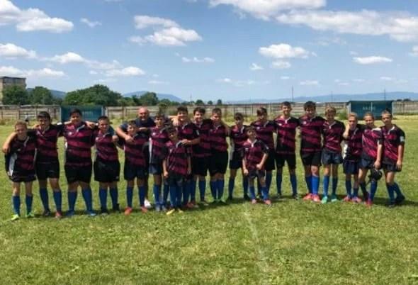 CS Universitatea Arad e a treia forță din țară la rugby Under 14
