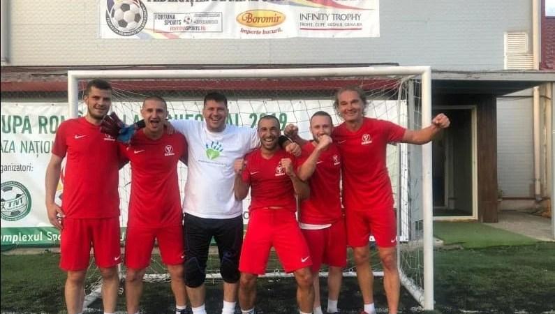 Simco e singura echipă arădeană ajunsă în sferturile de finală ale Cupei României la minifotbal, de la Bacău