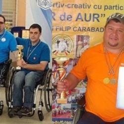 """""""Temerarii"""" Rădulescu și Banciu, cei mai buni la tenis de masă în Republica Moldova și Bulgaria"""