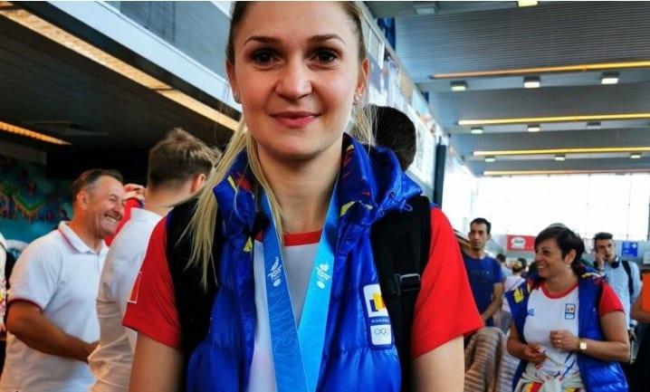 """Medaliată cu argint la Jocurilor Europene de la Minsk, arădeanca Dodean e optimistă: """"Avem șanse reale să mergem și la Olimpiadă"""""""