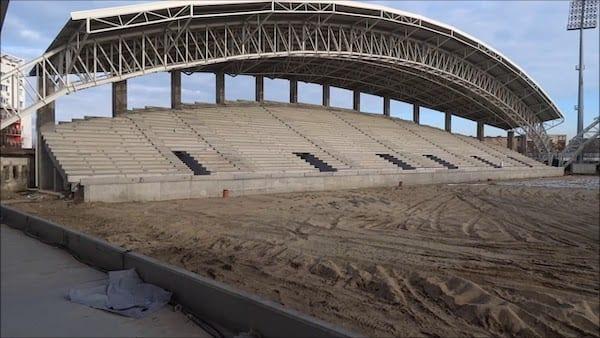 Primăria ascunde contractul cu Tehnodomus, USR Arad merge în instanță pentru stadionul UTA!