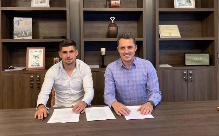 Balint și-a primit mijlocașul dreapta chiar înainte de a pleca în cantonament: Ursu a semnat cu UTA și e al 23-lea utist din lotul pentru Rogla