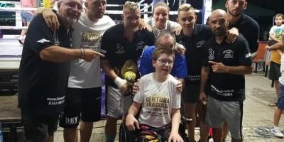 Edi Gafencu – o nouă victorie la profesioniști în fața a 600 de iubitori ai boxului, sensibili la cauza lui Florinel