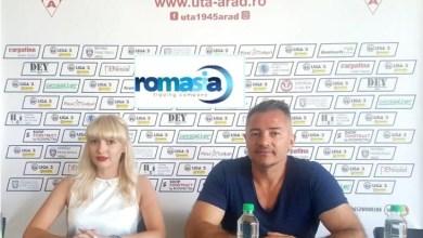 Photo of ROMASIA, un nume nou pe lista de sponsori a clubului UTA