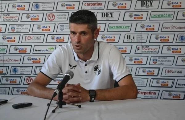 """Suciu: """"Cine nu a văzut meciul își face o altă idee, meritam mai mult. Ca și la Buzău, ne-a costat lipsa de experiență!"""""""