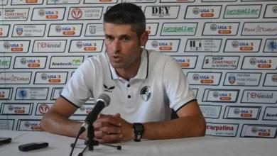 """Photo of Suciu: """"Cine nu a văzut meciul își face o altă idee, meritam mai mult. Ca și la Buzău, ne-a costat lipsa de experiență!"""""""