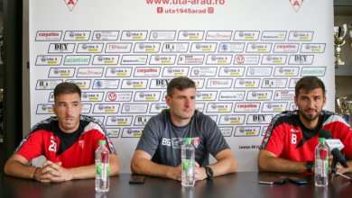 """Photo of Ax solid pentru Balint! Ilie: """"E important să nu luăm gol, căci avem jucători ofensivi care pot înscrie oricând""""; Buhăcianu: """"Motivați 100% și sâmbătă"""""""
