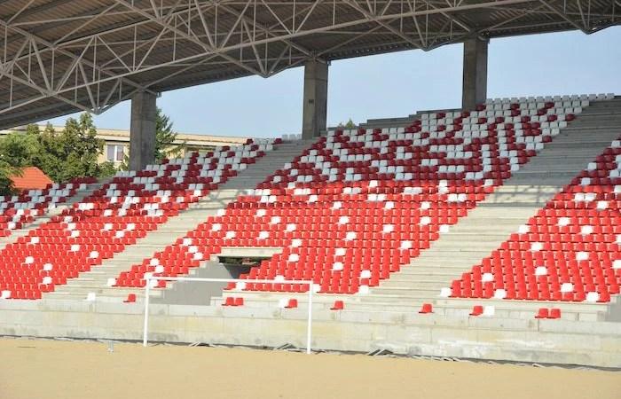 """Contractul cu Tehnodomus s-a încheiat, Primăria face alte două licitații pentru finalizarea arenei """"Francisc Neuman"""" de 11.526 de locuri!"""
