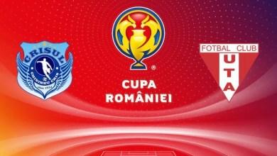 Photo of Crișul – UTA, în turul patru al Cupei României! UPDATE! În proporție de 99%, meciul se va juca marți, 10 septembrie
