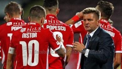 """Photo of Dinamo a pierdut la Giurgiu înainte de meciul cu UTA, """"câinii roșii"""" ajung luni seara la Arad"""