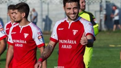 """Photo of Alex Ioniță, la primele goluri pentru UTA: """"Indiferent de anii de experiență în fotbal, reușitele îți cresc moralul"""""""