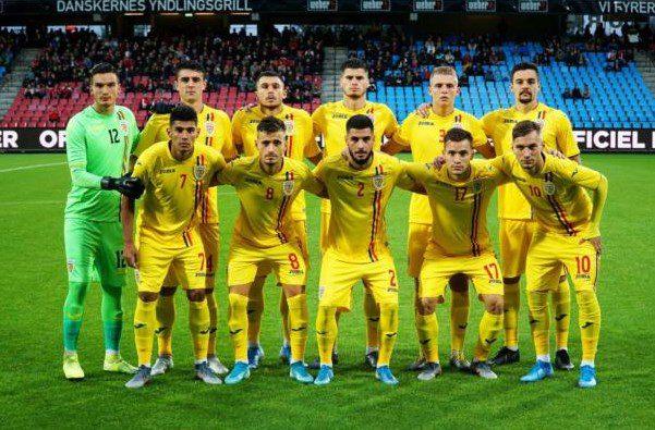 România Under 21, cu Adi Petre printre titulari, a pierdut în Danemarca în debutul campaniei de calificare la Euro 2021!