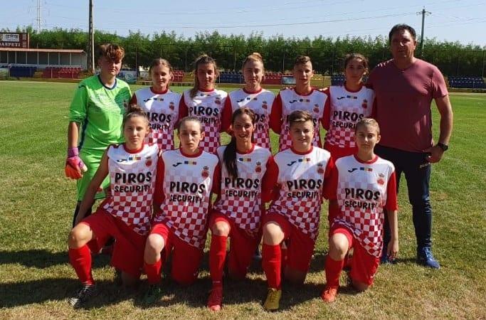 Debut convingător în Liga 1, în exact 11 jucătoare: CSȘ Târgoviște – AC Piroș Security  1-3
