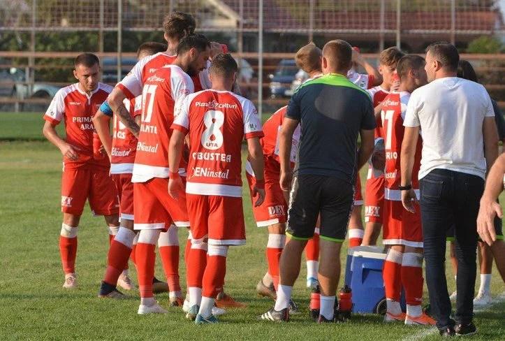 Măsurătorile indică o echipă UTA bine pregătită din punct de vedere fizic, Balint se gândește deja la meciurile cu Crișul și - mai ales - Mioveni