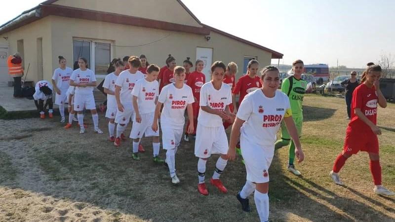 Fără surprize în derby-ul Vestului la fete: Fortuna Becicherecu Mic – AC Piroș Security  2-0