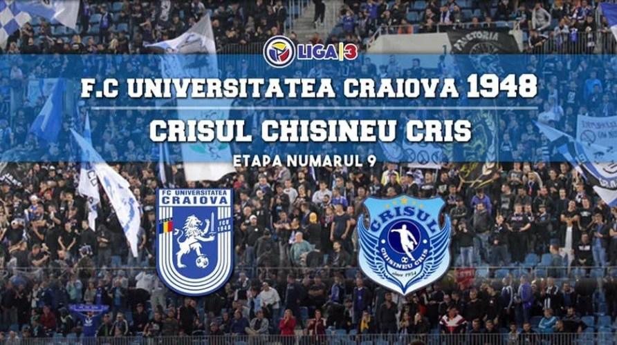 """Derby onorant pentru Crișul: """"Suntem realiști, plecăm cu șansa a doua în fața Craiovei, dar acesta nu e un impediment să demonstrăm ceea ce putem!"""""""