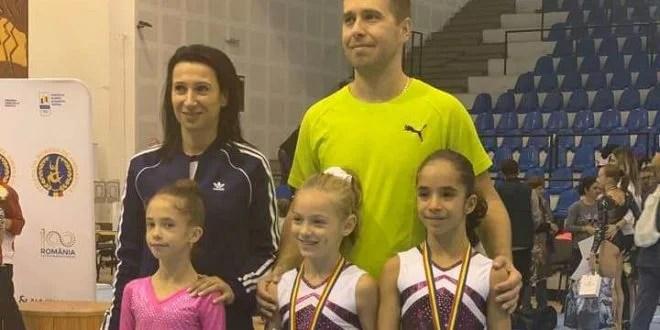 """Micile gimnaste, pe podium la """"naţionalele"""" de la Ploieşti"""