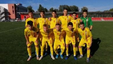 """Photo of Arădeanul Melniciuc, printre marcatorii """"tricolorilor"""" U15 în victoria din Republica Moldova"""