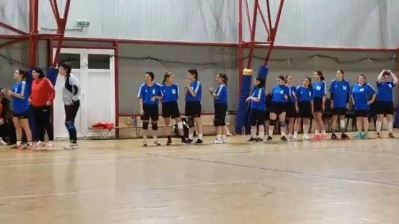 Fetele de la HC Beldiman au debutat cu două victorii în reînființatul campionat județean