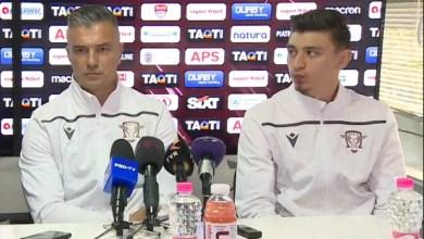 """Photo of Pancu pariază pe Hlistei și Jorza cu UTA: """"De obicei se cam marchează împotriva echipelor la care ai jucat"""" Balint – cel mai bun antrenor în opinia unui rapidist"""