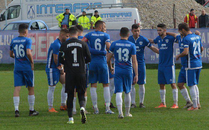 Sebișenii au informat FRF-ul că se retrag din campionatul Ligii a 3-a, Horezu prima echipă ce stă pe puncte în seria a IV-a