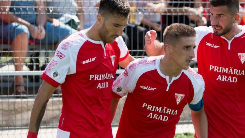 UTA, singura echipă cu două prezențe în Top 6 al golgheterilor Ligii a 2-a la fotbal
