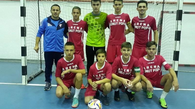 CN de futsal U19: Șimandul a câștigat și ultimul meci al sezonului regular și așteaptă numele adversarilor din grupa de elită!