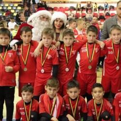 Echipele arădene au trebuit să se mulțumească cu locuri 2 și 3 în al doilea weekend al Cupei de Crăciun Atletico