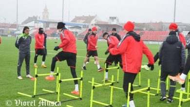 Photo of UTA recapitulează principiile tactice în compania juniorilor U19