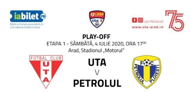A demarat campania de vânzare a biletelor virtuale la UTA – Petrolul!