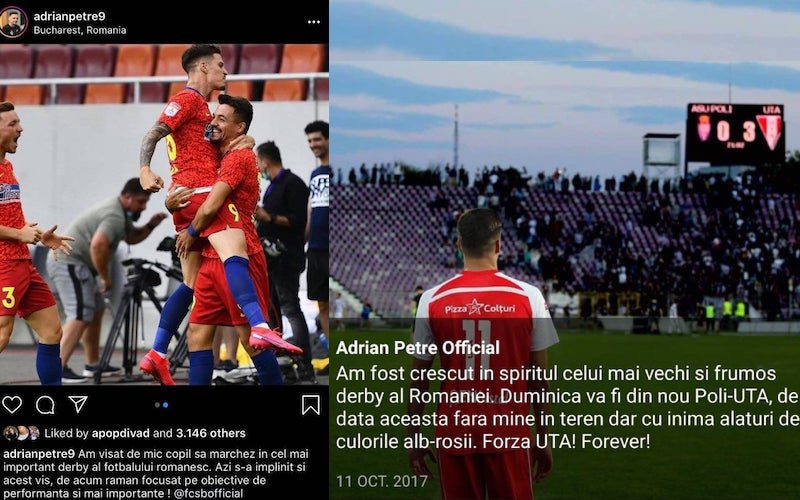 Percepțiile lui Adi Petre despre FCSB – Dinamo și UTA – Poli