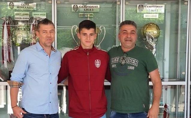 """Viitorul Arad l-a dat pe Todoran la CFR Cluj: """"Merită, e un băiat serios și talentat!"""""""